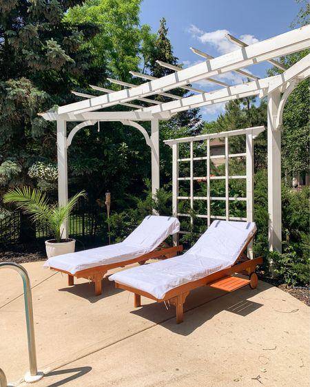 Outdoor lounge chairs http://liketk.it/3hy0p #liketkit @liketoknow.it #LTKswim #LTKunder100 #LTKhome