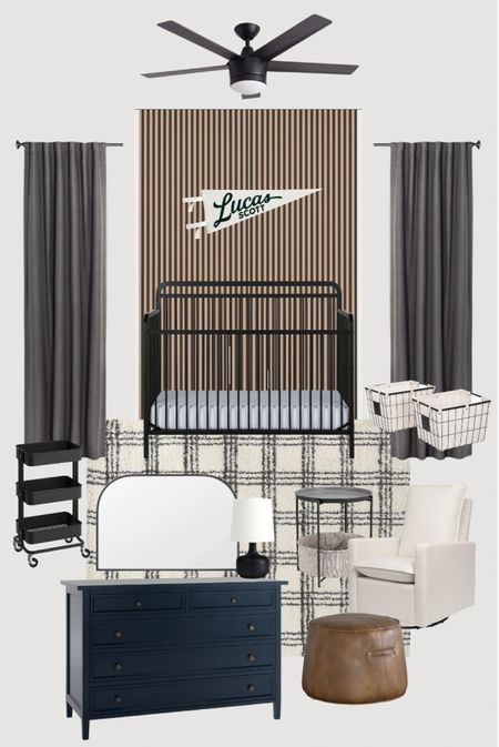 Baby boy's nursery design! I cannot wait to start this room… it's going to make it all feel so much more real 🖤 …and you know it was going to be all neutral!  #LTKhome #LTKbaby #LTKstyletip