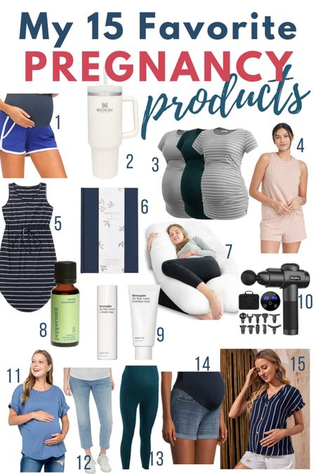 I'm in my last month of pregnancy and these are the maternity clothes & products I've used the most!   #LTKbaby #LTKbump