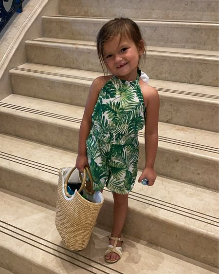 Tropically happy little girl! Big romper fan- always size up for her #rompers #kidfashion #littlegirloutfits #janieandjack http://liketk.it/3i2p0 #liketkit @liketoknow.it #LTKfamily #LTKkids #LTKitbag @liketoknow.it.family Shop your screenshot of this pic with the LIKEtoKNOW.it shopping app