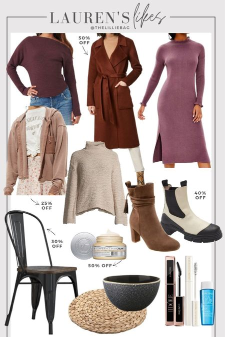 Style and sale finds. 50% off wrap coat. Fall and weatherproof boots. Home decor. Stoneware bowls. Fall style. Shacket. Thermal. Up to 40% off dress code: More.   #LTKsalealert #LTKunder100 #LTKunder50