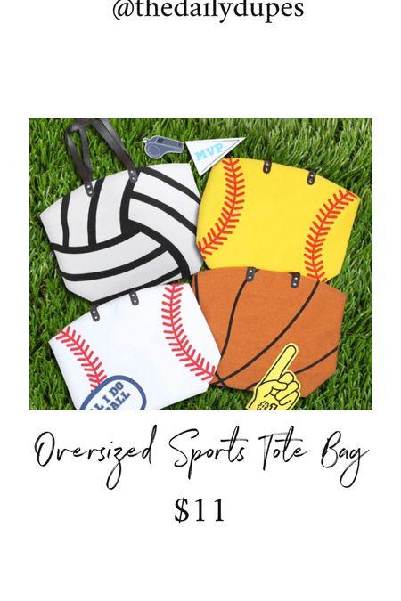 Oversized sports bag #thedailydupes   #LTKGiftGuide #LTKunder50 #LTKitbag