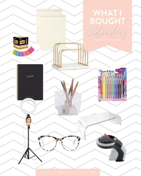 This weeks WIBW is all things office supplies! Check out all the details on the blog!  #LTKhome