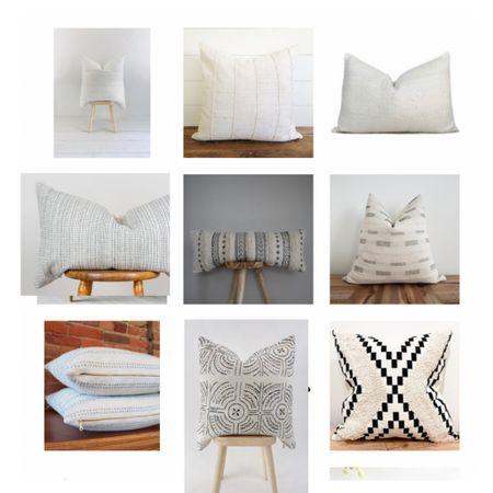 Gorgeous neutral throw pillows     #LTKhome #LTKunder100