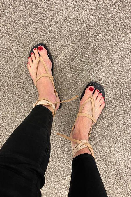 Love these sandals for summer!    #LTKshoecrush #LTKunder100