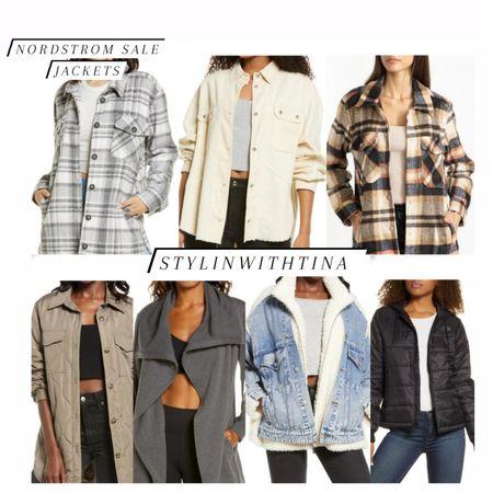 Nordstrom sale tops. My top picks #shirtjacket#coat#shirt#plaidshirt #shacket http://liketk.it/3jA5m #LTKsalealert #LTKstyletip #LTKunder50 #LTKunder100 #LTKtravel #LTKwedding #LTKworkwear #LTKbeauty #LTKfit @liketoknow.it #liketkit #denimsherpajacket #denimjacket