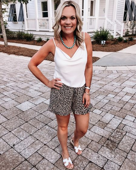 Memorial Day Weekend...ushering in summer, bbq's with your favorite peeps, pool parties & tons on clearance sales! I'll be living all summer in these cutie shorts that are currently $26 because 1. they're so comfy 2. they're leopard print...duh! http://liketk.it/2C4aM #liketkit @liketoknow.it #LTKsalealert #LTKshoecrush #LTKspring #LTKstyletip #LTKunder50 #LTKunder100