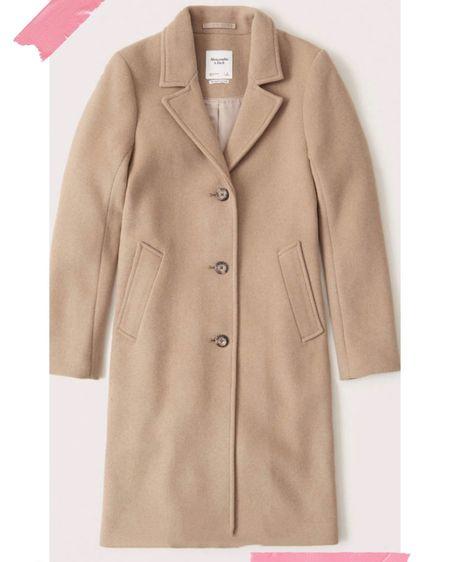 Best wool coat Abercrombie  @liketoknow.it #liketkit http://liketk.it/2X9dU