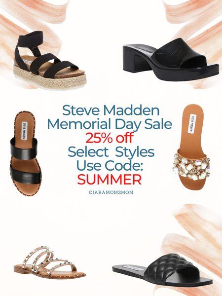 Steve Madden Memorial Day Weekend Sale!   25% select styles!   Use code: SUMMER   #LTKshoecrush #LTKunder100 #LTKsalealert
