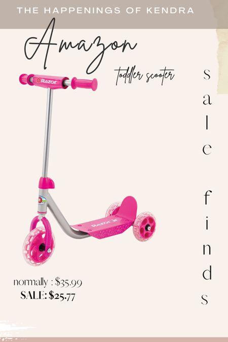 Toddler scooter on sale #liketkit #LTKsalealert #LTKkids #LTKfamily @liketoknow.it http://liketk.it/3gWy9 #ltktoys #ltksummer