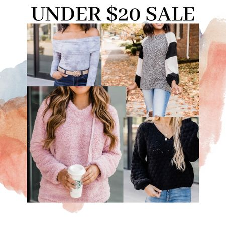 Sweaters under $20 on the sale tab!! Also?l, cute bodysuits and blouses! My top selling sweater is only $15!! http://liketk.it/33eEU #liketkit @liketoknow.it #StayHomeWithLTK #LTKsalealert #LTKunder50 Shop your screenshot of this pic with the LIKEtoKNOW.it shopping app