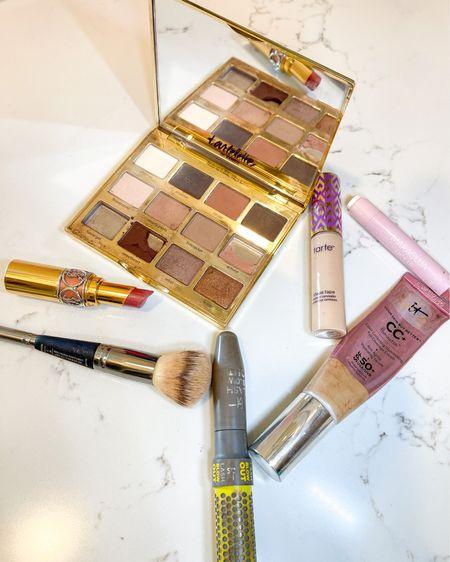 Last day to shop my make up part of the LTK sale #ltkday sale http://liketk.it/3hynx #liketkit @liketoknow.it #LTKunder100 #LTKunder50 #LTKsalealert   Concealer: light neutral Cc cream: medium Bronzer & airbrush powder # two Eyeshadow palette: In Bloom Blush: ecstasy Juicy lip: rose YSL lip: 09 nude shee