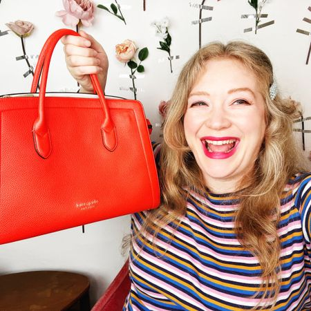 This Kate spade knot tote bag is sooooo cute! And it's on sale!!!!! Enjoy! http://liketk.it/3jUDr #liketkit @liketoknow.it #LTKitbag #LTKsalealert #LTKstyletip @liketoknow.it.family @liketoknow.it.europe Shop your screenshot of this pic with the LIKEtoKNOW.it shopping app