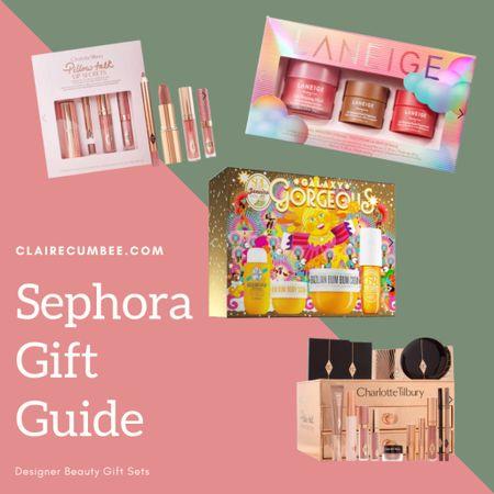 Designer Beauty Gift Sets Gift guides Charlotte tilbury  Facial steamer Skincare Christmas  Girls Girlfriend  Lip mask   #LTKbeauty #LTKHoliday #LTKGiftGuide