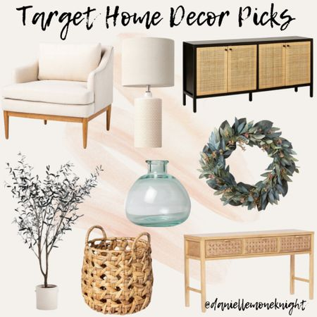 Sharing some of my target home decor picks with you guys on the blog this week! From cozy arm chairs to entryway tables and fun living room additions, happy shopping   #LTKhome #LTKunder100