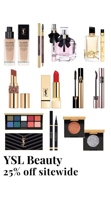 YSL Beauty 25% off sitewide   #LTKSale #LTKbeauty #LTKsalealert