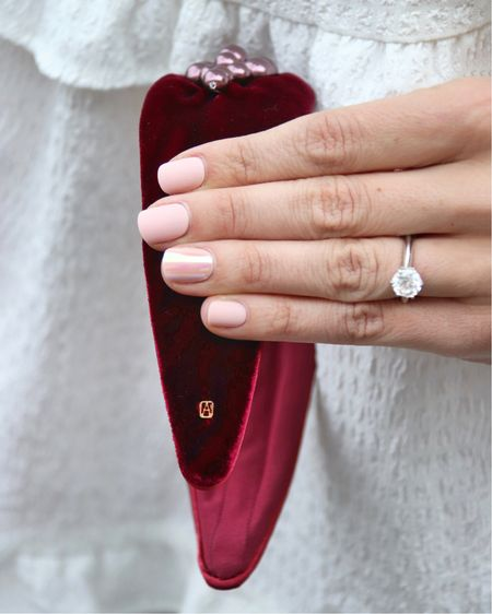 For six years I have been wearing press-on nails in a variety of shades, my favorite quick manicure option, @kissproducts nails. Plus they match well with my engagement ring, don't you think? 😉💅🏻   #LTKunder50 #LTKbeauty #LTKstyletip