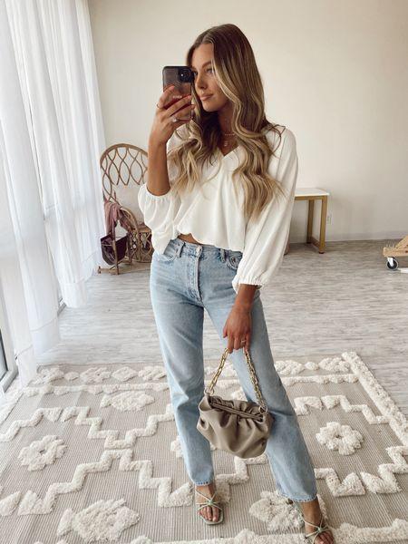 favorite jeans, work outfit, date night spring and summer neutral style http://liketk.it/3fAQF @liketoknow.it #liketkit #LTKunder100 #LTKstyletip #LTKbeauty
