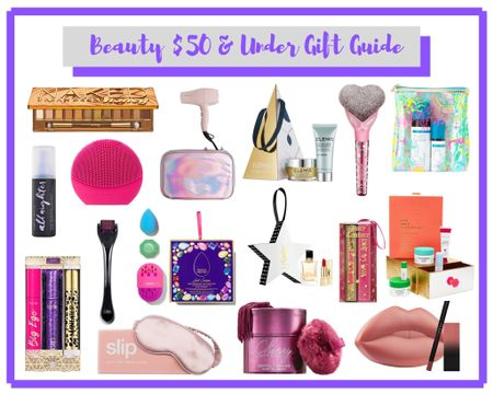 Alright guys, my beauty $50 & under gift guide is now live!!! There's so many goodies on it and some of which are even on sale for the Black Friday weekend!! Hurry and get those gifts so you don't have to cram last minute! http://liketk.it/2HBI9 #liketkit @liketoknow.it #LTKholidaygiftguide #LTKholidayathome #LTKunder50