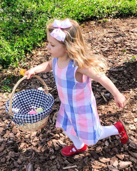 Easter egg hunt in preppy plaid @liketoknow.it http://liketk.it/3c5mz #liketkit #LTKSpringSale #LTKkids #LTKunder100