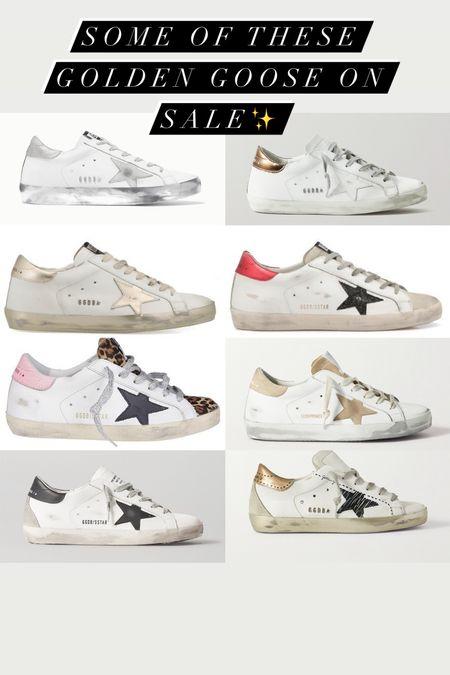 Some golden goose on sale   #LTKstyletip #LTKshoecrush #LTKsalealert