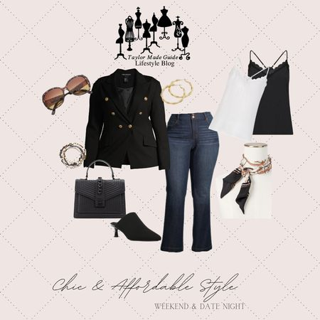 Stylish, chic, affordable for curves dressy casual look. The purse, the shoes, the scarf oh my. #plussizefashion #fallfavorites #curveychic  #LTKcurves #LTKstyletip #LTKunder100