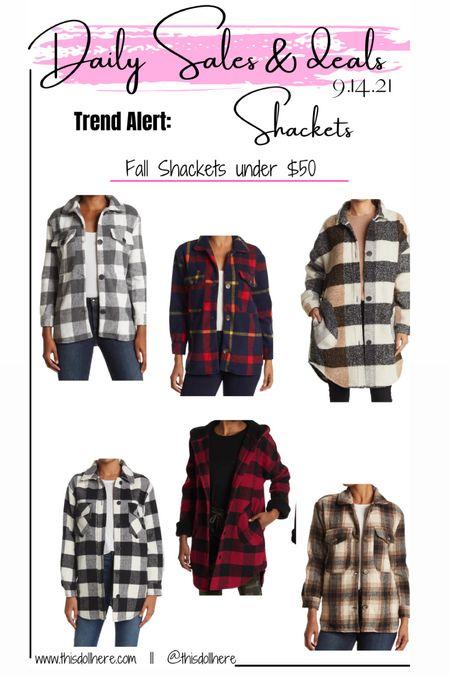 Fall fashion, shacket, shackets, shirt, jacket  #LTKunder50 #LTKSeasonal #LTKstyletip