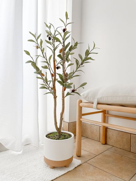 Easy DIY faux olive tree.     #LTKhome