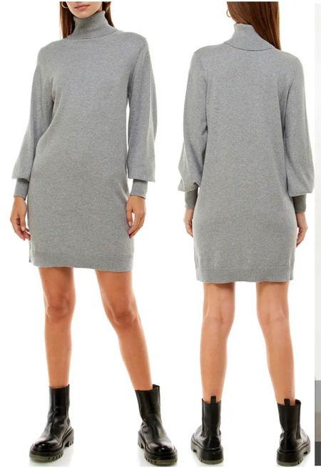 Nordstrom Sale Turtleneck Dress  #LTKworkwear #LTKsalealert #LTKunder100