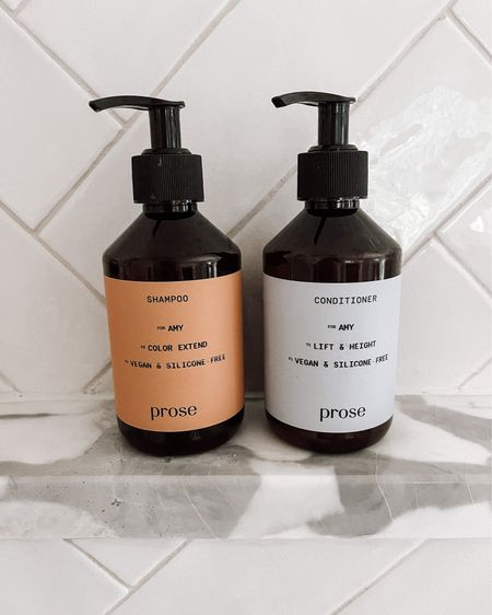 In terms of best #cleanbeauty hair products, the hype is real about #Prose. I've been using for months now, and I feel like my hair has never looked better! It's 100% worth taking the test and ordering yourself a custom shampoo and conditioner suited specifically for your hair. #beauty #haircare #fashionjackson  #LTKbeauty #LTKunder50 #LTKunder100