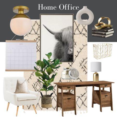 Modern home office decor  #LTKunder100 #LTKunder50 #LTKhome