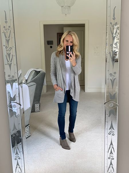 #NSale | This Barefoot Dreams cardigan I don't go anywhere without in the Fall! Put it on the wish list and shop the Nordstrom Anniversary sale which opens up to all tomorrow July 28th!   #LTKstyletip #LTKsalealert #LTKtravel