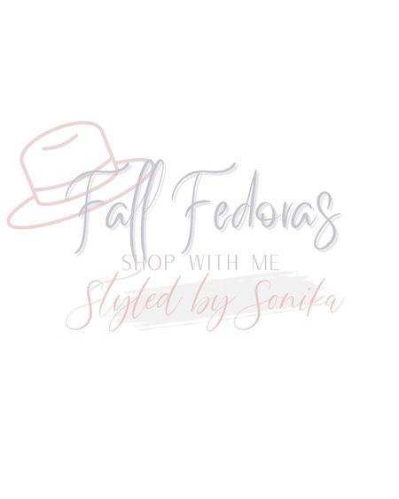 Fall fedora Hats   #LTKsalealert #LTKSeasonal #LTKstyletip