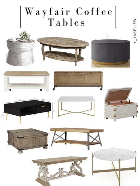 #homedecor #livingroom #livingroomideas #coffeetable #coffeetableideas #moderncoffeetable #modern #chic #beige #cream #neutrals #wayfair #affordable #quality  #LTKhome #LTKfamily #LTKstyletip