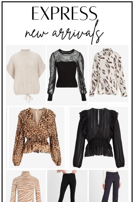 Express New Arrivals #thedailydupes  #LTKHoliday