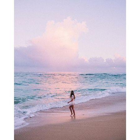 Pastel sunrise with @tberolz @will_journey  @liketoknow.it www.liketk.it/23Ckg #liketkit #maui #willjourney #hawaii #gmgtravels #sunrise #pastelsky
