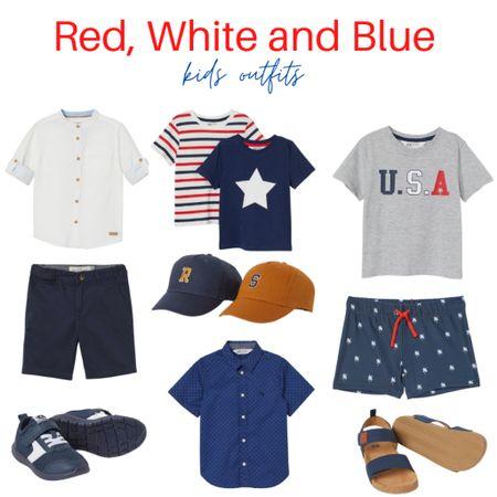 Toddler outfit ideas http://liketk.it/3g8F5 @liketoknow.it @liketoknow.it.family #liketkit #LTKbaby #LTKfamily #LTKkids #ltkseasonal #redwhiteblue #memorialdaystyle #4thofjulestyle #toddlerfashion