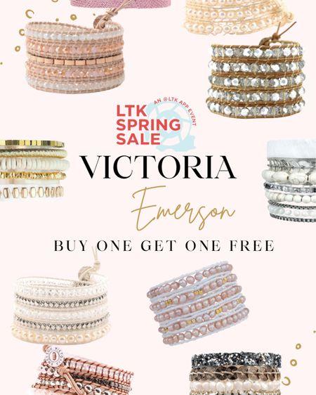 LTK spring sale - USE CODE LTKBOGO to get Victoria Emerson's bracelets for buy one get one free!  http://liketk.it/3cpYh #liketkit @liketoknow.it #LTKSpringSale #LTKunder50 #LTKsalealert