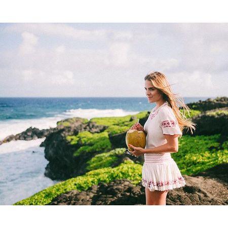 Fresh coconuts + amazing views #ilovehawaii #maui #christmasinmaui #gmgtravels #willjourney @liketoknow.it www.liketk.it/23Gpm #liketkit