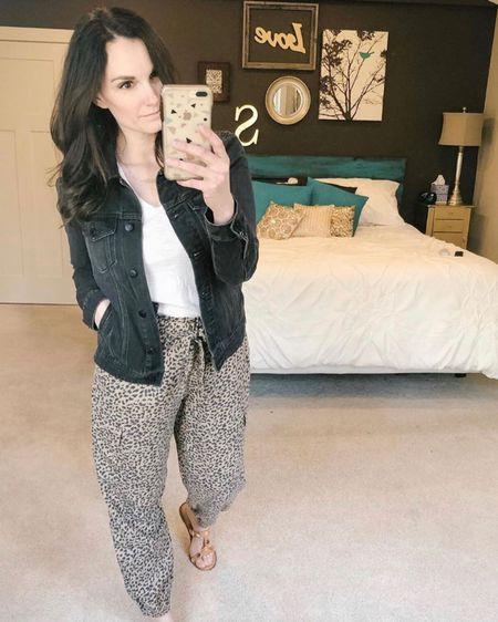 These leopard print cargo joggers are on sale today @aerie! They're super light and an option for spring summer and fall! http://liketk.it/2NA2b #liketkit @liketoknow.it #LTKsalealert #LTKspring #StayHomeWithLTK