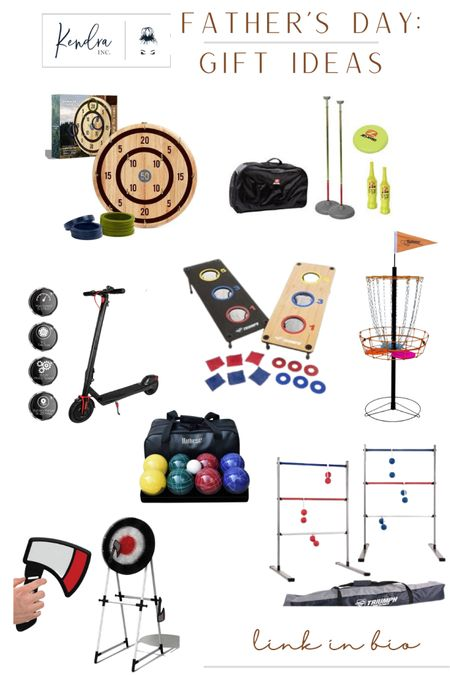 Father's Day Gift Guide: for the dad who needs a little more indoor/outdoor fun! These are great games for all ages to include the family too.  http://liketk.it/3hyW8 #liketkit @liketoknow.it #LTKfamily #LTKmens #LTKunder100