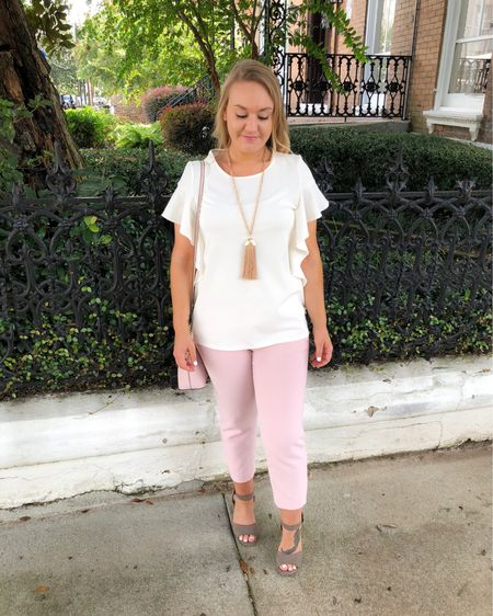 WILL WORK FOR SHOES!    You can instantly get outfit details for this look & shop all looks by following me on the LIKEtoKNOW.it app OR by going to CentsibleBlonde.com! LINK IN BIO 💕     http://liketk.it/2B38z #liketkit @liketoknow.it #LTKworkwear #LTKsalealert #LTKshoecrush #LTKspring #LTKstyletip #LTKunder100 #LTKitbag #LTKunder50 #tuesdayshoesday #shoesday #shoesdaytuesday #shoegram #shoestagram