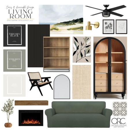 One Room Challenge time! This living room makeover is going to be such a huge change!   #LTKstyletip #LTKSeasonal #LTKhome