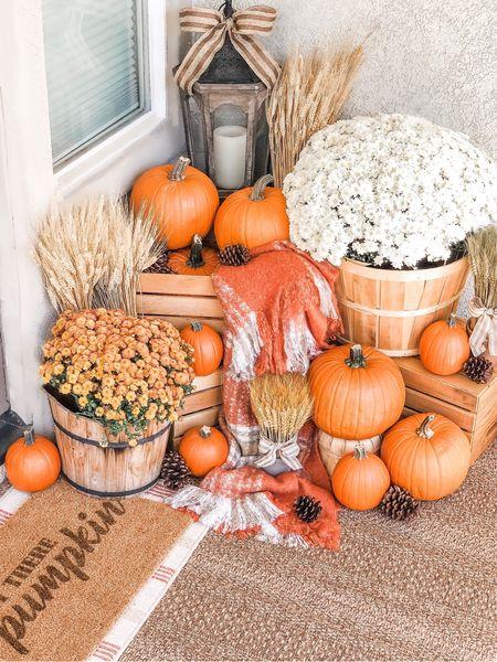 http://liketk.it/2Fbof Happy First Day of Fall🍁🍂🎃  #LTKfamily #LTKhome #LTKkids #falldecor #porchdecor #pumpkins #mums #frontporch #falldoormat  #LTKstyletip #LTKunder50 @liketoknow.it.home @liketoknow.it.family  #liketkit @liketoknow.it @target