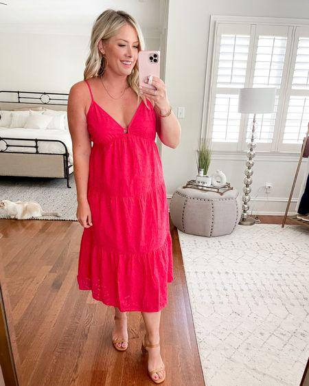 Pink eyelet dress http://liketk.it/3hUUX #liketkit @liketoknow.it
