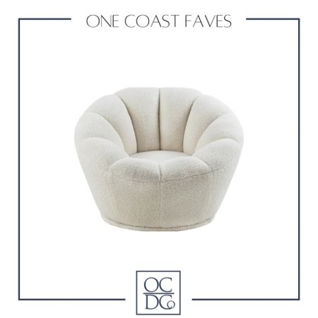 http://liketk.it/3hh1D This white swivel chair is so very cozy and can go in any room you desire! #liketkit #LTKhome @liketoknow.it @liketoknow.it.home   Follow me on the LIKEtoKNOW.it shopping app to get the product details for this look and others
