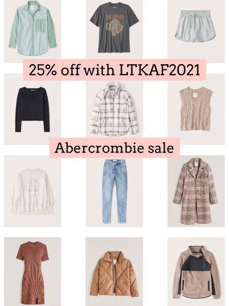 Abercrombie sale  Follow my shop on the @shop.LTK app to shop this post and get my exclusive app-only content!  #liketkit #LTKSeasonal #LTKsalealert #LTKSale @shop.ltk http://liketk.it/3oaGQ