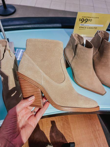 Nordstrom sale , booties on sale, fall shoes, woman shoes   #LTKshoecrush #LTKsalealert #LTKstyletip