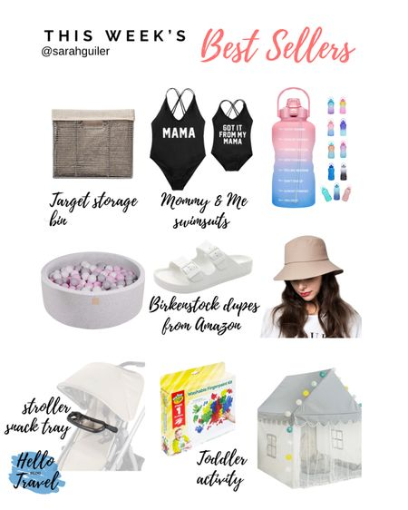 One piece swimsuit. Mommy and me swimsuits. Amazon finds. Water bottle. Bucket hat. Ball pit. Uppababy accessories. Toddler activities. Playroom. Play tent. Home organization. Home storage baskets. Target finds. @liketoknow.it @liketoknow.it.family http://liketk.it/3iTX9 #liketkit #LTKhome #LTKbaby #LTKfamily