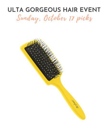 Ulta Gorgeous Hair Event 10/17 pick - Drybar The Lemon Bar Paddle Brush  #LTKbeauty #LTKsalealert
